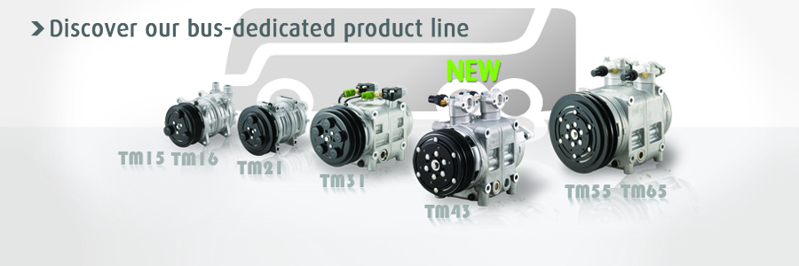 Discover our bus dedicated product line