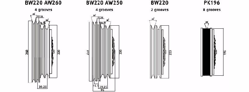 TM55 / TM65 Magnetic Clutches