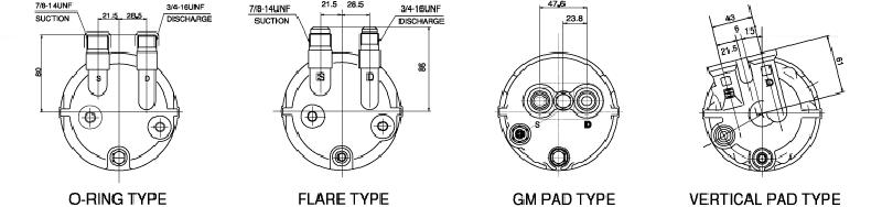 TM13, TM15, TM16 Cylinder Heads