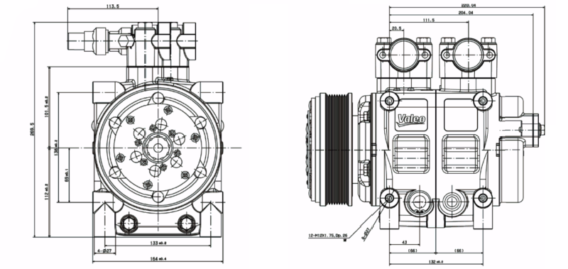 TM43 Technical Drawings