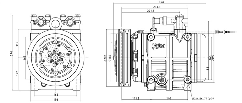 TM55 / TM65 Technical Drawings